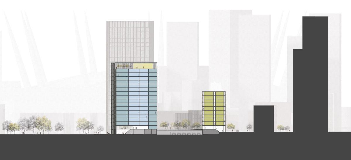 Alison Brooks Architects_Greenwich Peninsula_section