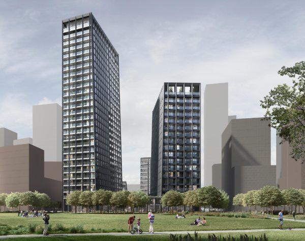 Alison Brooks Architects_Greenwich Peninsula_main render