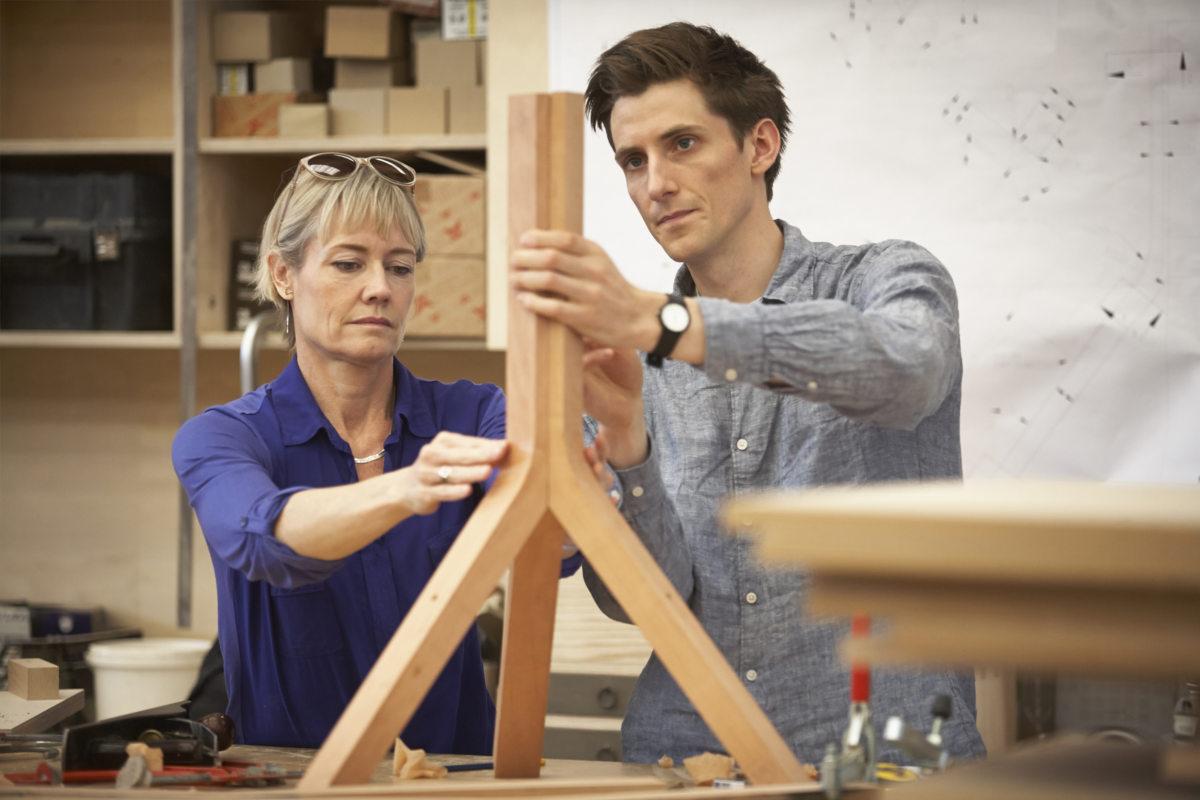 Alison Brooks Architects _ Wish List Stool _ Photo 4