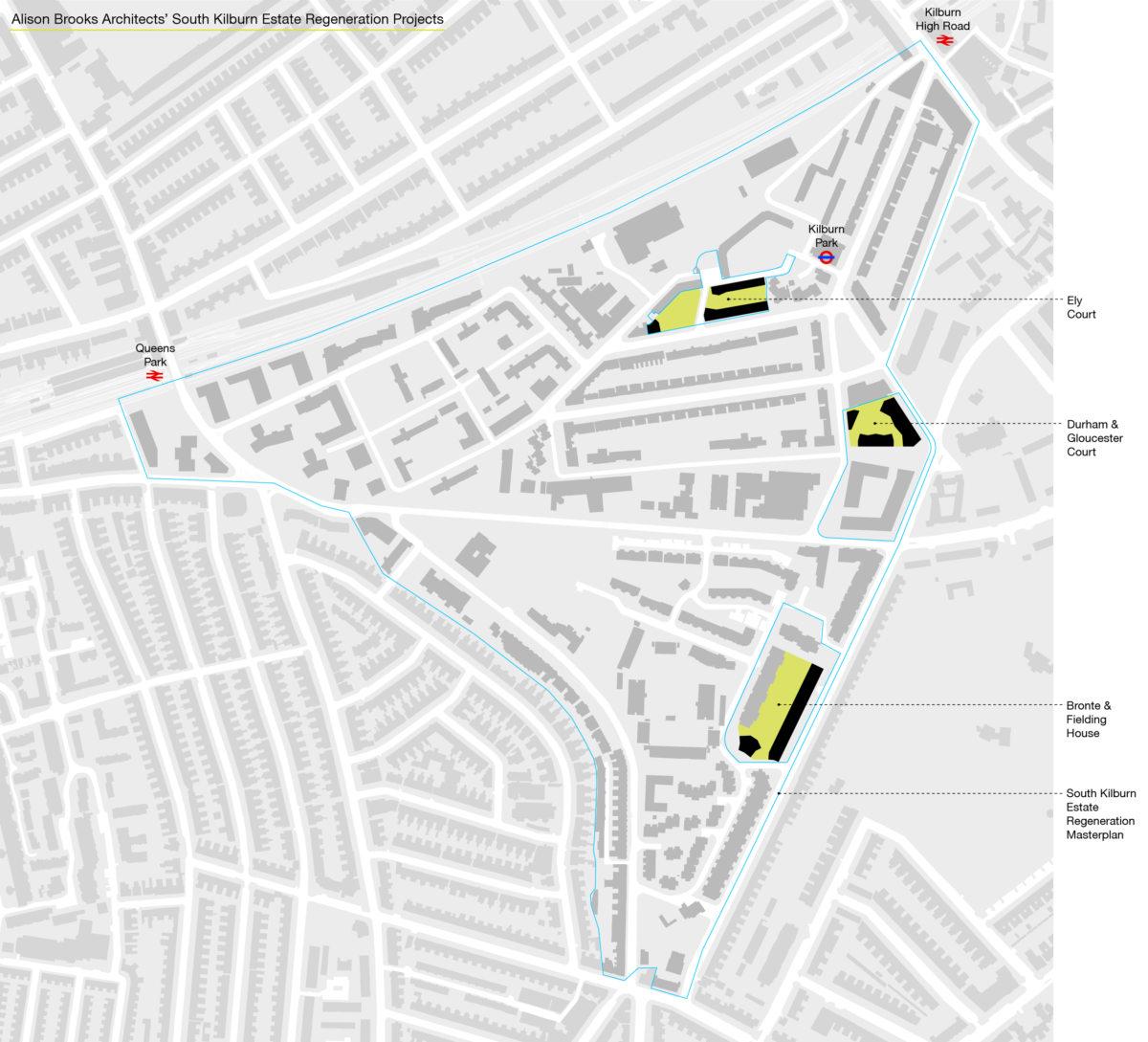 Alison Brooks Architects _ Durham & Gloucester Court _ South Kil